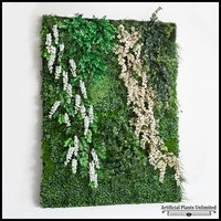 Replica Indoor Artificial Living Wall 72in.L x 60in.H