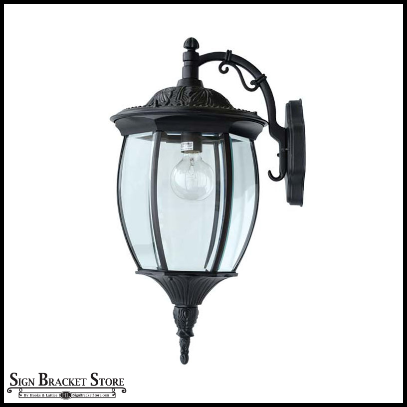 Reverse Victorian Outdoor Wall Fixture 120v Click To Enlarge