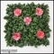 12in. X 12in. Rhododendron Azalea Foliage Tile, Pink, Indoor