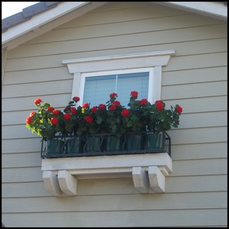 Riviera Window & Garden Planters (Finished on 4 Sides)