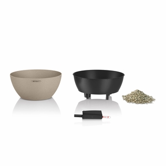 Rouse Self-Watering Low Bowl Planter