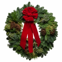 Royal Christmas Wreath