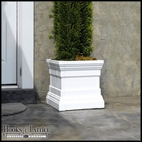 "Royal Windsor Patio Planters 20"" Long 20"" Wide 20"" Deep"