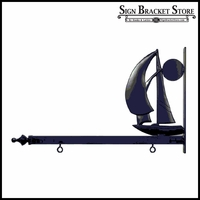 Sailing into the Sunset Sign Bracket - 48""