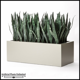 Artificial Sansevieria Room Divider