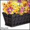 42in. Santiago Decora Window Box w/ Black Tone Galvanized Liner