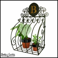 Scroll Monogrammed Wall Planter