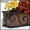 Scroll Window Box Cage With Liner