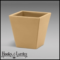 "Set of four 14"" Josef Tapered Planters"