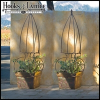 Set of Two Garden Trellis Obelisks