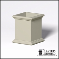 Sienna Fiberglass Commercial Planter 30in.L x 30in.W x 36in.H