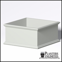 Sienna Fiberglass Commercial Planter 72in.L x 72in.W x 36in.H