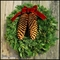 Tahoe Pine Christmas Wreath - 22in.