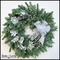 Whispering Winds Winter Frost Wreath - 22in.