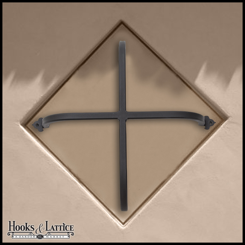exterior iron window accents. click to enlarge exterior iron window accents |
