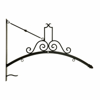 Lighted Arc Blade Sign Bracket