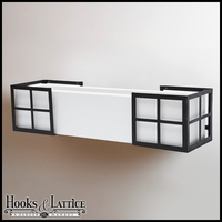 Simple Elegance Flower Box Holder - Pair