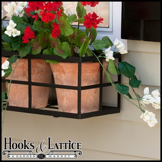 "48"" Simple Elegance Window Box Cage"