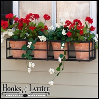"36"" Simple Elegance Window Box Cage"