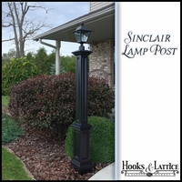 Exterior lamp posts, decorative lamp post, residential outdoor ...
