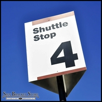 Slip Over Three Way Sign Frame