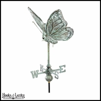 Small Butterfly Weathervane - Antique Finish