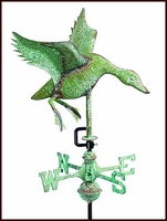 Small Landing Duck Weathervane