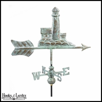 Small Lighthouse Weathervane