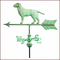 Small Retriever Weathervane