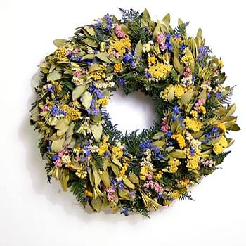Spring Door Wreaths From Hooks U0026 Lattice Are A Radiant Collection Of Herb,  Succulent, And Dried Floral Wreaths That Are Available Year Round.