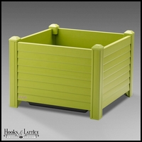 Niguel 18in. Square Planter in Pistachio