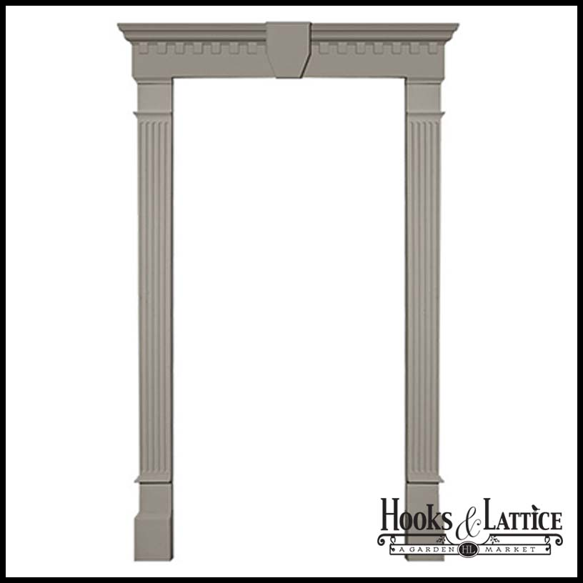 Garage Door Surround and Pilaster Kit Click to enlarge  sc 1 st  Hooks and Lattice : door pilaster - pezcame.com