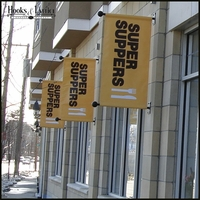 Super Suppers- Wall Mounted Banner Barckets