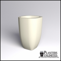 Surface Square Cast Stone Planter 32in.L x 32in.W x 48in.H