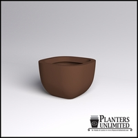 Surface Square Cast Stone Planter 34in.L x 34in.W x 23in.H