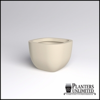 Surface Square Cast Stone Planter 36in.L x 36in.W x 26in.H