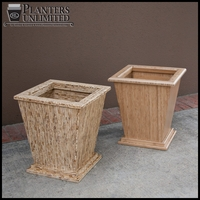 Sustainable Wood Planters - Eco Friendly Containers