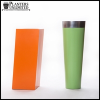 Tall Colorful Planters