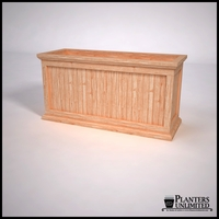 Tamland Cedar Commercial Planter 48in.L x 18in.W x 24in.H
