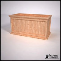 Tamland Cedar Commercial Planter 48in.L x 24in.W x 24in.H