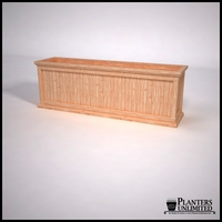 Tamland Cedar Commercial Planter 72in.L x 18in.W x 24in.H