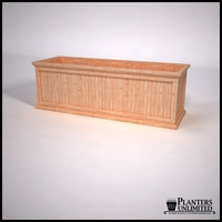 Tamland Cedar Commercial Planter 72in.L x 24in.W x 24in.H