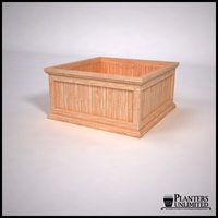 Tamland Cedar Commercial Planter 36in.L x 36in.W x 18in.H