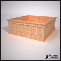 Tamland Cedar Commercial Planter 48in.L x 48in.W x 18in.H