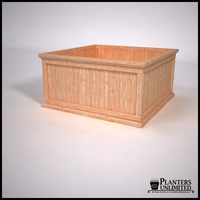 Tamland Cedar Commercial Planter 48in.L x 48in.W x 24in.H