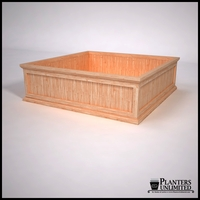 Tamland Cedar Commercial Planter 60in.L x 60in.W x 18in.H