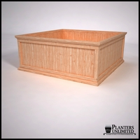 Tamland Cedar Commercial Planter 60in.L x 60in.W x 24in.H