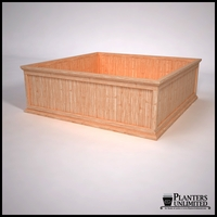 Tamland Cedar Commercial Planter 72in.L x 72in.W x 24in.H