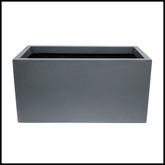 Titan Rectangular Weathered Stone Planter 48in.L x 18in.W x 24in.H