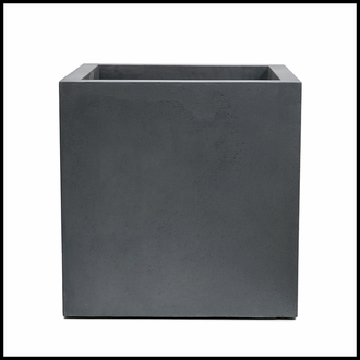Titan Square Weathered Stone Planter 42in.L x 42in.W x 42in.H